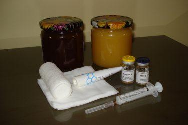Honig für die Behandlung